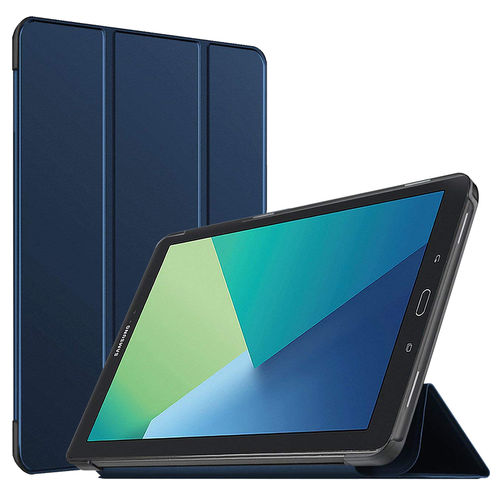 Trifold Smart Case Stand for Samsung Galaxy Tab A 10.1 (2016) - Blue
